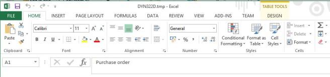Post#11: Dynamics AX tab in Excel missing - Microsoft Dynamics AX