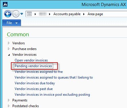 Post 17 Pending Invoice Issues Microsoft Dynamics Ax